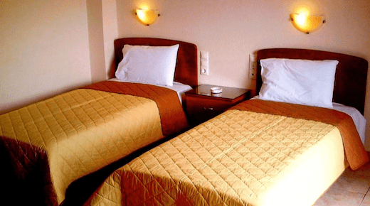 Gorilla African Guesthouse twin beds